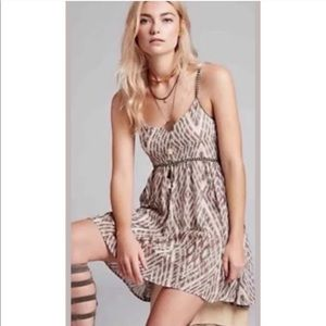 Free People Boho Ikat Printed Dress NWOT